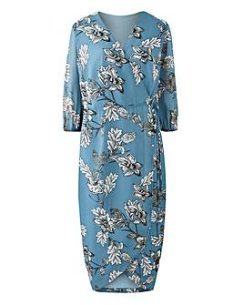 Lovedrobe Printed Wrap Dress