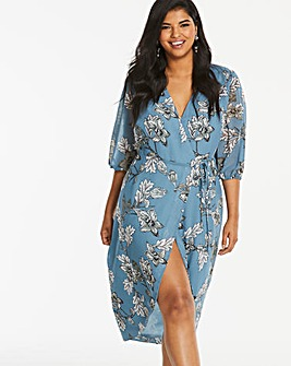 Lovedrobe Printed Wrap Dress