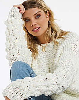 Bobble Stitch Jumper