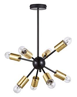 Selene Sputnik Ceiling Light