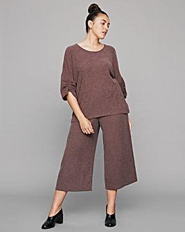 I.Scenery Wide-Leg Culotte