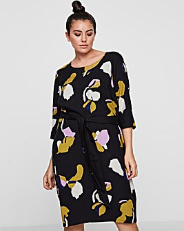 I.Scenery Saga Floral Midi Dress