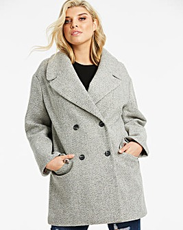Oasis Curve Jasmine Relaxed Coat