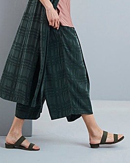 Concept Check Cupro Blend Culottes