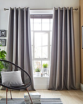 Libby Linen Effect Blackout Curtains