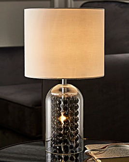 Azurou Table Lamp with Bead Drops