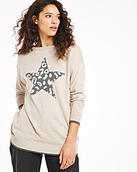 Leopard Star Tunic