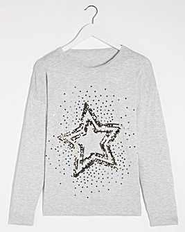 Sequin Star Jumper