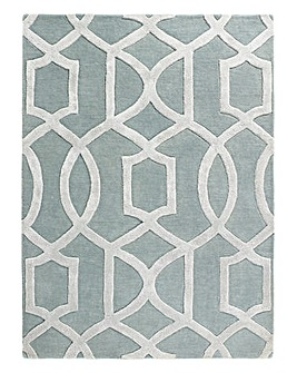 Venice Wool and Viscose Rug Large