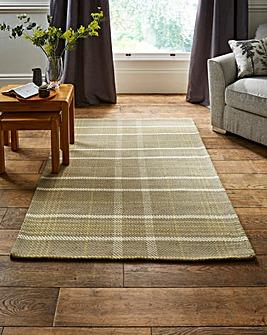 Winnie Check Wool Rug