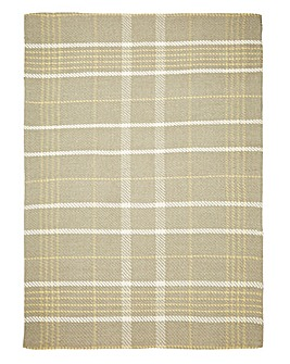 Winnie Check Wool Rug Large