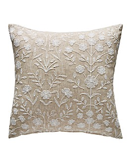 Juliette Embroidered Filled Cushion