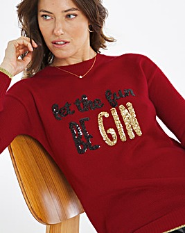 Novelty Let the Fun Be Gin Tunic