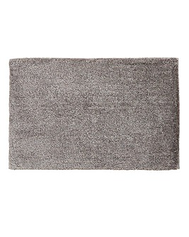 Plush Microfibre Bathmat- Flint Grey