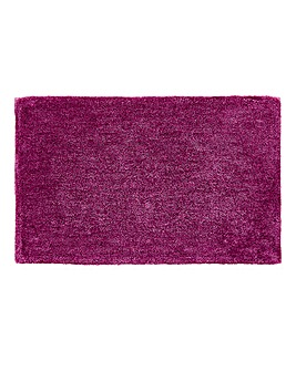 Plush Microfibre Bath and Ped Mat- Mauve