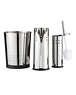 Stainless Steel 3 Piece Bathroom Set