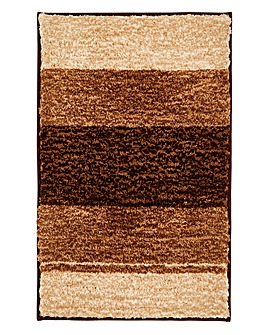 Striped Ombre Bathmat- Natural