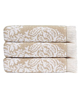 Christy Siam Towels- Pebble