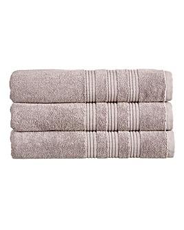Christy Sloane Towels- Dove Grey