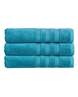 Christy Sloane Towels- Teal