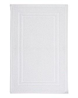 Christy Fina Bathmat- White