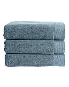 Christy Luxe Towels- Denim
