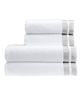 Christy Mode Towels- White