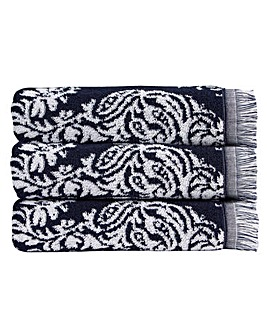 Christy Siam Towels- Midnight