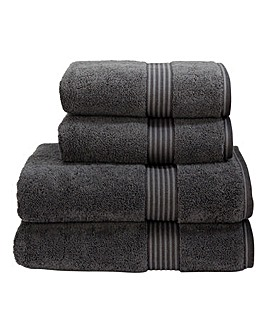 Christy Supreme Hygro Towels- Graphite