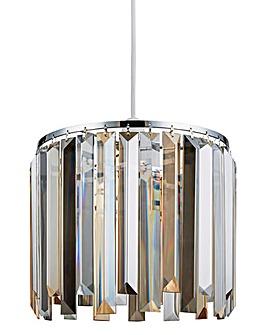 Freya Tricolour Glass Pendant
