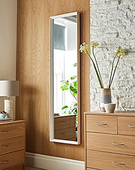 Simple Long Length Bevelled Mirror