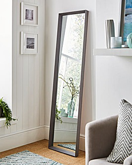 Simple Long Length Bevelled Mirror