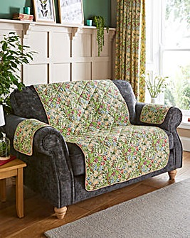 William Morris Golden Lily Quilted Furniture Covers
