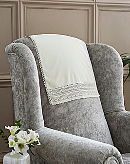 Lace Anti Slip Chair Backs