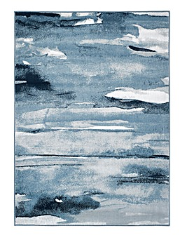 Artistic Water Colour Rug
