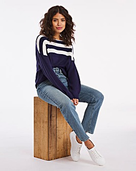 Ribbed Stripe Jumper