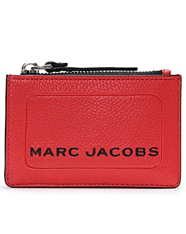 Marc Jacobs Top Zip Leather Wallet
