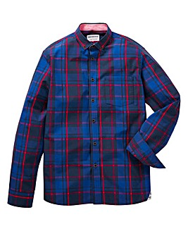 Mish Mash Spruce Check Shirt Long