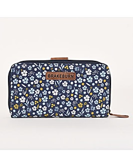 BRAKEBURN DITSY FOLD OVER PURSE