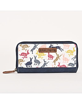BRAKEBURN HARE ZIP PURSE