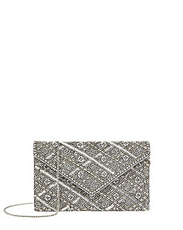 Accessorize Tabitha Embellished Clutch