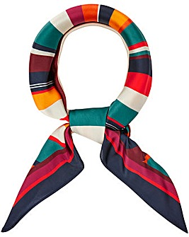Accessorize Retro Stripe Square