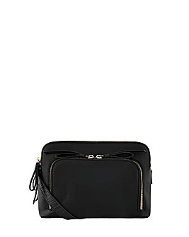 Accessorize Taylor Double Zip Cross Body