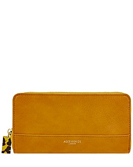 Accessorize Large Zip Around Wallet