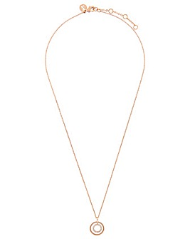 Accessorize Rg Open Circle Necklace