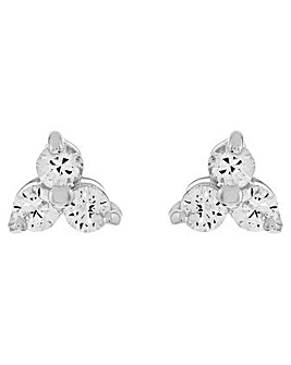 Accessorize  Cz Cluster Stud Earring