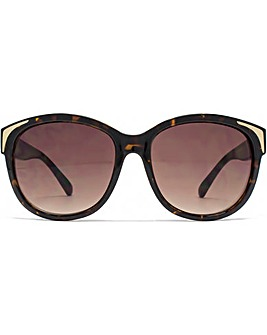 French Connection Metal Inlay Sunglasses