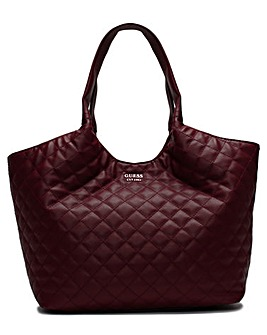 Guess Miriam Quilted Shopper Bag