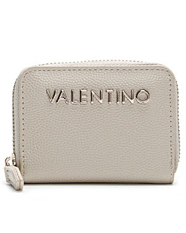 Mario Valentino Divina Pebble Coin Purse