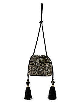Monsoon Amy Animal Drawstring Bag